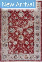 Lr Resources Mirage 81561RED  Area Rug