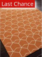 Rugstudio Sample Sale 81980R Red Orange Area Rug