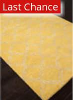 Rugstudio Sample Sale 103307R Bright Yellow Area Rug