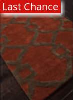 Rugstudio Sample Sale 103415R Red Oxide Area Rug