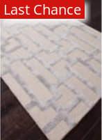 Rugstudio Sample Sale 82168R Silver Gray/Medium Gray Area Rug