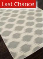 Rugstudio Sample Sale 81877R Antique White / Medium Gray Area Rug