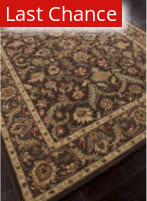 Rugstudio Sample Sale 82254R Dark Brown/Mushroom Area Rug