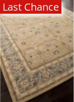 Rugstudio Sample Sale 82263R Tan/Blue Area Rug