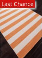 Rugstudio Sample Sale 81944R Vermillion Orange Area Rug