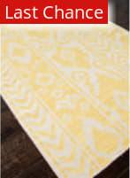 Rugstudio Sample Sale 81843R White / Butter Area Rug