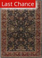 Rugstudio Sample Sale 125914R Charcoal - Red Area Rug