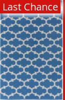 Rugstudio Sample Sale 125954R Blue - Ivory Area Rug
