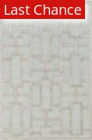 Rugstudio Sample Sale 137501R Light Blue - Ivory Area Rug