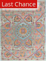 Rugstudio Sample Sale 175730R Teal Area Rug