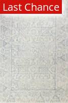 Rugstudio Sample Sale 183250R Ivory - Teal Area Rug