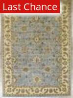 Benjamin Rug Imports Impressions 4510 Light Blue-Ivory Area Rug