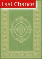 Rugstudio Sample Sale 173246R Green - Natural Area Rug