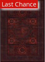 Rugstudio Sample Sale 173175R Burgundy Area Rug