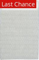 Rugstudio Sample Sale 158920R Swedish Blue - Ivory Area Rug