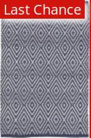 Rugstudio Sample Sale 175881R Navy - White Area Rug