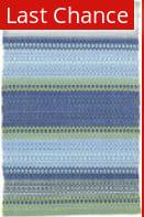 Rugstudio Sample Sale 160873R French Blue-Green Area Rug