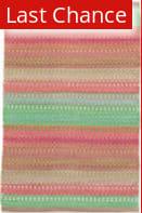 Rugstudio Sample Sale 158935R Pink - Green Area Rug