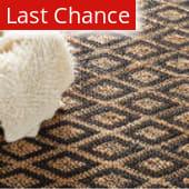 Rugstudio Sample Sale 72675R Black/Ivory Area Rug