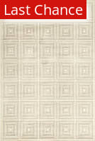 Rugstudio Sample Sale 184672R Cream - Gray Area Rug