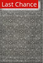 Rugstudio Sample Sale 99754R Dark Gray / Silver Area Rug
