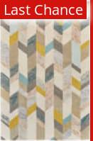 Rugstudio Sample Sale 184640R Gray - Gold Area Rug