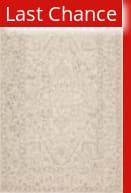 Rugstudio Sample Sale 217657R Light Gray - Cream Area Rug