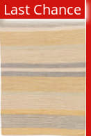 Rugstudio Sample Sale 146438R White Asparagus - Yolk Yellow Area Rug