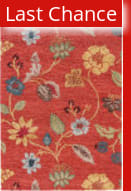Rugstudio Sample Sale 53316RR Navajo Red/Marigold Outlet Area Rug