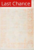 Rugstudio Sample Sale 216932R Orange - Light Gray Area Rug