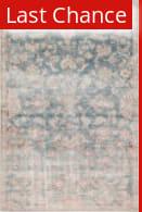 Rugstudio Sample Sale 217658R Dark Teal - Rust Area Rug