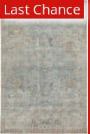 Rugstudio Sample Sale 217667R Teal - Gold Area Rug