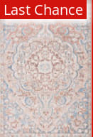 Rugstudio Sample Sale 217672R Blue - Light Pink Area Rug