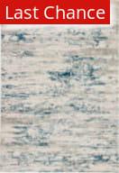 Rugstudio Sample Sale 202911R Ivory - Blue Area Rug
