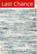 Rugstudio Sample Sale 208187R Blue - Ivory Area Rug