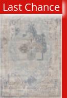 Rugstudio Sample Sale 186040R Gray - Light Blue Area Rug
