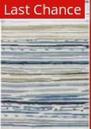 Rugstudio Sample Sale 74853R Silver Green - Ensign Blue Area Rug
