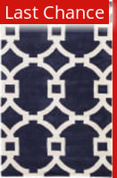 Rugstudio Sample Sale 109688R Medieval Blue - Gardenia Area Rug