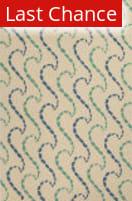 Rugstudio Sample Sale 109721R White/Green Area Rug