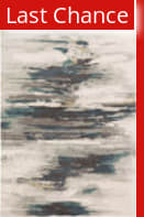 Rugstudio Sample Sale 196445R Teal - Gray Area Rug