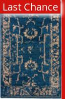 Rugstudio Sample Sale 169828R Midnight Navy - Dark Slate Area Rug