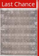 Rugstudio Sample Sale 196400R Gray - Ivory Area Rug