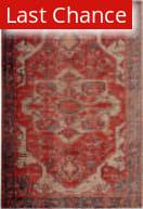 Rugstudio Sample Sale 196403R Red - Blue Area Rug