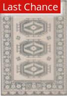 Rugstudio Sample Sale 204837R Light Teal - Gray Area Rug