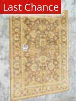 J. Aziz Peshawar Brown-Brown 86979 8' 2'' x 10' 5'' Rug