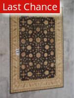 J. Aziz Peshawar Black-Beige 86983 9' 10'' x 14' 7'' Rug