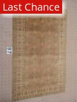 J. Aziz Peshawar Brown-Beige 87026 6' 8'' x 10' 1'' Rug