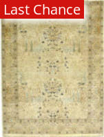 J. Aziz Haj Jalili V-1665 Ivory / Red Area Rug