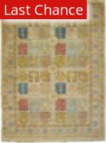 J. Aziz Haj Jalili V-1687 Sand / Royal Area Rug