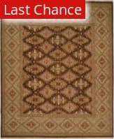 Rugstudio Sample Sale 146209R Brown - Green Area Rug